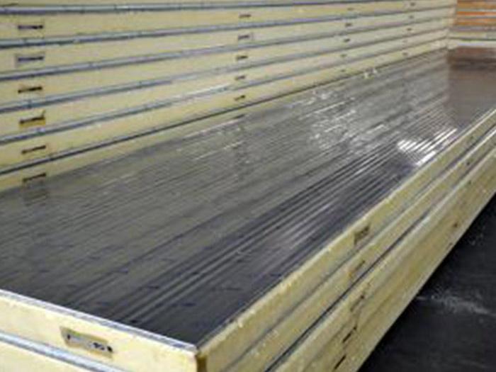 小波纹双面不锈钢冷库板